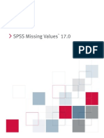 SPSS Missing Values 17.0