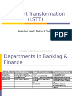 Analysis of Jobs in Banking & Finance