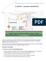 Electrical-Engineering-portal.com-Earthing in Electrical Network Purpose Methods and Measurement