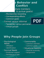 Group Behavior and Conflict-1
