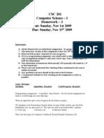 CSC 201-Homework3