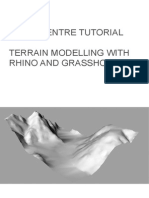 Terrain Model With Rhino and Grasshopper
