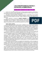 6. Las Concepciones Elitistas y Pluralistas de La Democracia (Santiago)