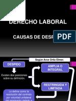 Causas de Despido en El Peru