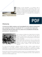 Codelco - Andina - Aspectos Generales