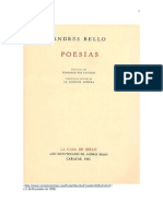 Bello Andres Poesías