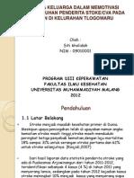 UPAYA KELUARGA DALAM MEMOTIVASI KESEMBUHAN PENDERITA STOKE.pptx