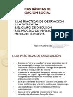 4. Técnicas Básicas de Investigación Social