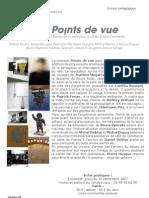 Points de vue - Dossier pédagogique