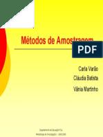 MetodosAmostragemT2