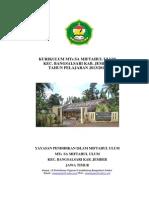 KURIKULUM MTs SA MIFTAHUL ULUM 2013.docx