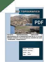 Informe Topográfico Anco