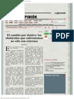 La Jornada_ El Cambio Por Dentro_ Los Obstáculos Que Enfrentamos No Sólo Son Ext