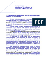 El Método de La Gnoseología