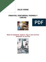 Verne, Julio - Ensayos, Discursos, Poemas y Cartas