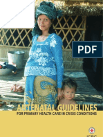 Antenatal guidelines for primary health care in crisis conditions