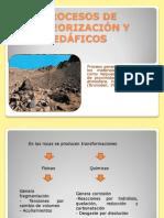 Procesos de Meteorizacion y Edaficos
