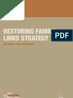Restoring family links, including legal references