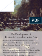 Realism and Naturalism (in 19th c. Art & Literature)