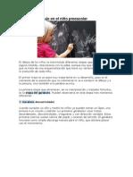 Etapas Del Dibujo en El Niño Preescolar