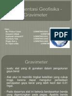 Gravimeter