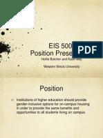 position presentation