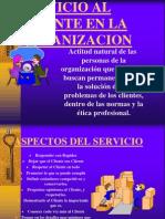 Servicio Al Cliente en La Organizacion