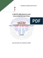 Matlab Aerodynamic Analyzer System Tool