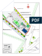 Proposed Site Layout Scale 1-250