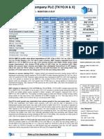 Tkyo - 9mfy14 Earnings Note - Buy - 19 Feb 2014