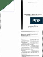 Apuntes Sobre El Principio de Publicidad en El Derecho Registral Peruano. Aliaga Huaripata
