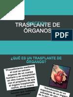 Trasplante de Órganos