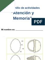 Cuadernillo Atencion y Memoria