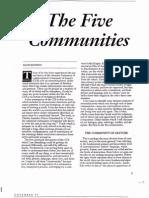 The Five Communities