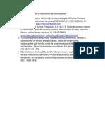 Contactos de Distribución y Refacciones de Compresores