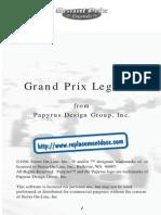 Grand Prix Legends - Manual - PC