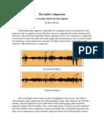 the audio compressor draft