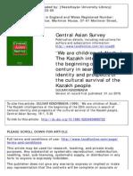 we are children of alash, the kazakh intelligentsia, cultural srvival.pdf