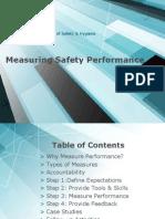 Measuring Safety performance Slides