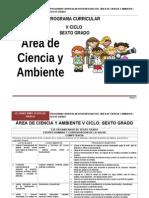 Ciencia Ambiente 6ºGrado RUTAS