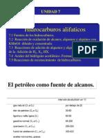 Unidad 7 Hidrocarburos Alifaticos