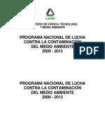 Programa Nacional Contra La Contaminacion