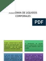 Anatomia de Liquidos Corporales