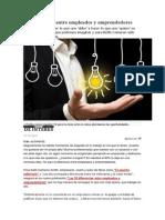 10 Diferencias Entre Empleados y Emprendedores