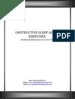 Free Report - Orofacial Exercises to Cure Sleep Apnea