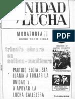 Unidad y Lucha 063 Diciembre 1982