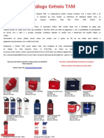Catálogo Grêmio TAM Promoção VFL1 03ABR2014