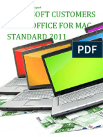 Microsoft Customers using Office for Mac Standard 2011 - Sales Intelligence™ Report