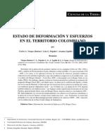 Deformacion Territorio Colombiano