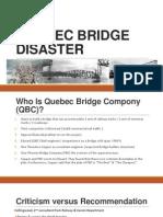 Quebec Bridge Disastesr